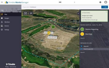 Trimble WorksManager
