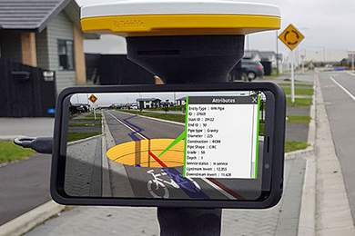 Augmented-Reality mit Trimble SiteVision