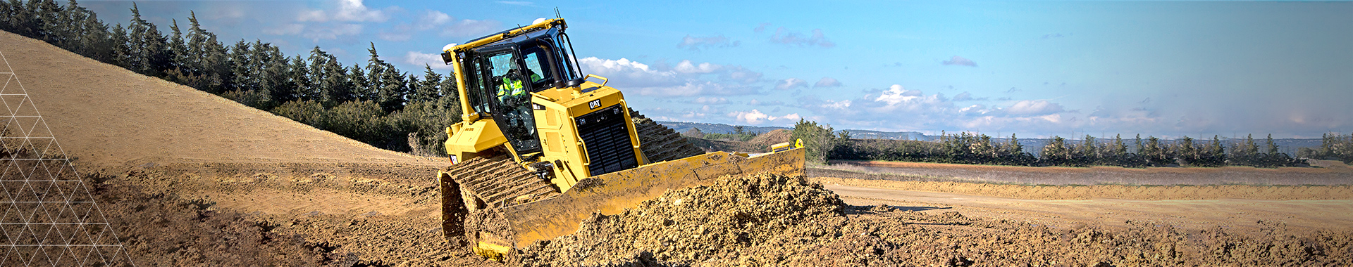 >Trimble Earthworks Dozer